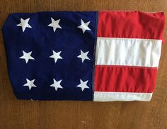 Vintage Large American Flag 48 Star 4 feet 6 feet by PassedBy
