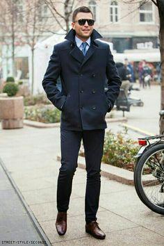 Cool blue...