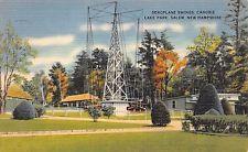 JN77 Canobie Lake Park, Salem New Hampshire,  vintage postcard