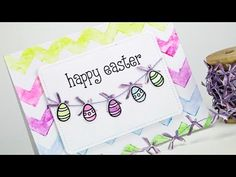 ▶ How to make a watercolor Easter card - YouTube