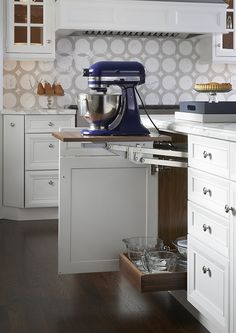 Mixer Cabinet | Wood-Mode | Fine Custom Cabinetry