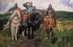 Васнецов Виктор Михайлович 1848-1926). Богатыри (2484×1612)