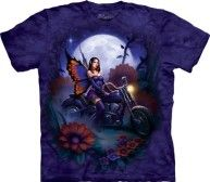 The Mountain – Mens Fairy Biker T-Shirt