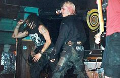 EXTREME NOISE TERROR, I saw these lads in Kingston in the UK