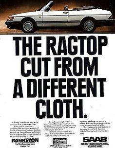 Saab 900 Turbo Convertible 198793  Saab 900 cabrio  Pinterest