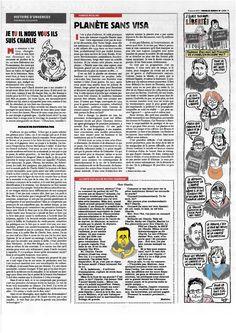 Pag 7 - Tutto il nr 1178 del 14 gennaio di Charlie Hebdo può essere scaricato liberamente da http://laduendes.blogspot.it/2015_01_01_archive.html