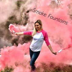 Smoke Bomb Gender Reveal Smoke Bombs Smoke by PoofThereItIsReveals