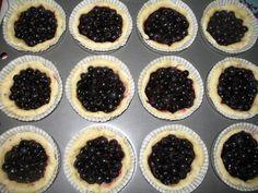 Pörden Keittiössä: Mustikkakupit