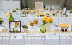 Una decoración recién exprimida: Lo mejor de los colores cítricos en el entorno de tu boda Image: 3