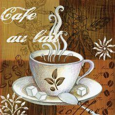 Coffee Break Cafe Au Lait