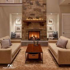 The season to cuddle up next to the fire is upon us. Add a touch of cozy to any fireplace with gorgeous stone panels.
