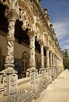 O Manuelino no Palácio do Buçaco, Luso - Mealhada