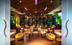 Located on the famed Ocean Drive, but away from the tourist-laden haunts, De Rodriguez's sumptuous beachfront restaurant is intimate and elegant, pulsing with the energy and excitement that Miami demands.