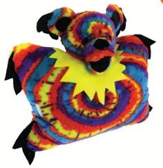 dancing bear pillow pet.  approx 22 x 18.  limited supply.  order soon for christmas