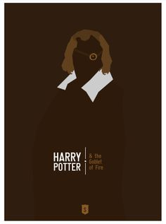 Harry Potter and the Goblet of Fire (2005) ~ Minimal Movie Poster by Hexagonall ~ Harry Potter Series