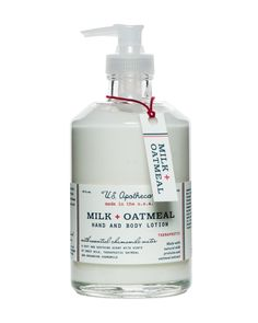 Milk + Oatmeal Hand and Body Lotion
