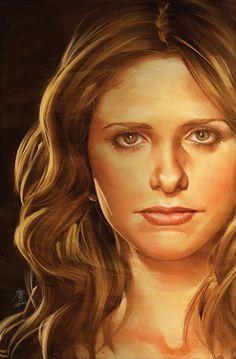 Buffy art by Jo Chen