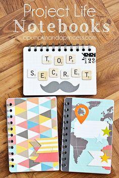 Ideas para decorar cuadernos y libretas                                                                                                                                                                                 Más