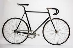 James Greig's Single Speed - Saffron Frameworks | Bicycle Frame Builder London