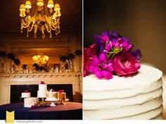Chris   Lindsey: Longview Mansion Wedding. Buttercream Wedding Cakes. Classic Cakes | www.kcclassiccakes.com Floral | Erin Volante