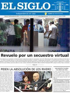 Diario El Siglo - Viernes 2 de Noviembre de 20 12