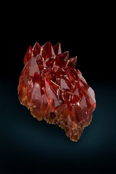 Rhodochrosite  N'Chwaning II Mine, South Africa  53mm  Diane and Keith Bronlee Collection