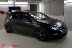 Golf R Satin Black Wrap