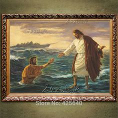 Jesus Christ Jesus Canvas Posters and Prints Wall Art Pictures for living room Home Decor cuadros decoracion Oil painting 70 Jesus Christ Painting, Jesus Art, Painting Prints, Wall Art Prints, Canvas Prints, Canvas Poster, Canvas Art, Cheap Paintings, China Art