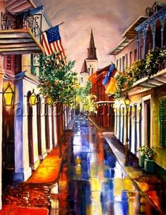 Dream of New Orleans Painting - Artist: Diane Millsap at ArtistRising.com