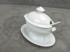 BELLE MOUTARDIER ancien. Porcelaine de LIMOGES.