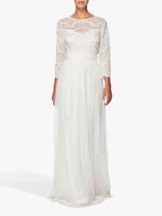 Raishma Bridal Gown, White at John Lewis & Partners