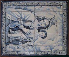 Azulejos Españoles de Puente Del Arzobispo, Toledo