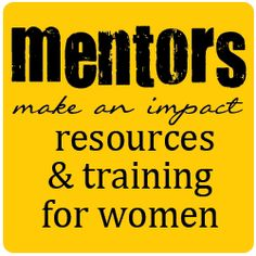 mentoring - links to several resources