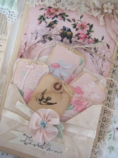 Paper Doll Journal~ finished - Pretty Petals
