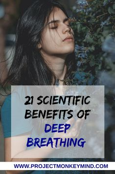 This article will explore the 21 Benefits of Deep Breathing that are backed by science. If you've ever wondered how you can use breathing techniques to supercharge your life, and in what ways you can do so, you'll love this post! Health Benefits, Health Tips, Deep Breathing Exercises, Yoga Breathing, Stomach Ulcers, Breathing Techniques, Relaxation Techniques, Lucid Dreaming, Pranayama