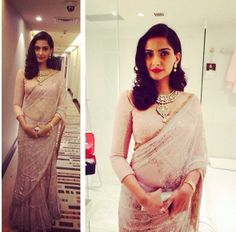 Sonam Kapoor #saree #sari #saaree