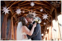 Moravian stars! Newlyweds in Salem. #MyBrilliantStar #HerrnhutStar #Wedding…