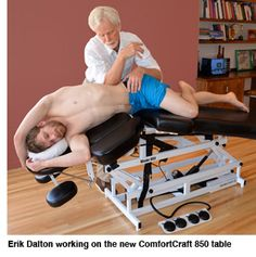Erik Dalton Treating Tigh Traps, Pecs and Lats