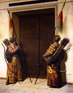 """Les portes de Timur (Tamerlan)"" Vasily Vasilevich Vereshchagin - huile sur panneau - 1872 - (Tretyakov Gallery (Moscow, Russia))"