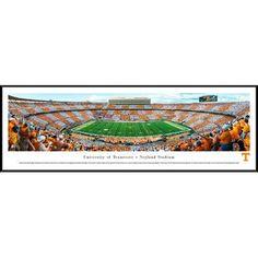 BlakewayPanoramas NCAA Tennessee, University of - Football - 50 Yard Line by Robert Pettit Framed Photographic Print