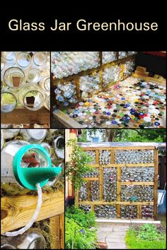 Want to build a greenhouse in your backyard? Well, if you have access to plenty of glass jars, you can use them for this easy DIY greenhouse project.