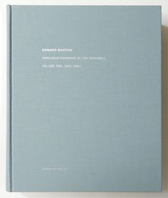 edward ruscha catalogue raisonne of the paintings volume two 1971 1982 - Colored People Book