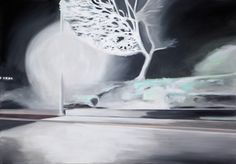 Jay Bower - A Night Out, Acrylic on canvas, Jay, Night Out, Abstract, Canvas, Artwork, Collection, Summary, Tela, Work Of Art