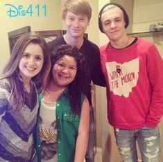 Laura Marano, Raini Rodriguez, Calum Worthy and Ross Lynch