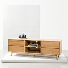 Pre-Order and save on the Bastian Entertainment Unit - Solid Oak - - Icon By Design. Timeless furniture you can afford to love. Tv Unit Furniture, Furniture Design, Scandinavian Storage Furniture, Solid Oak Tv Unit, Tv Entertainment Units, Tv Unit Decor, Contemporary Lounge, Units Online, Tv Unit Design