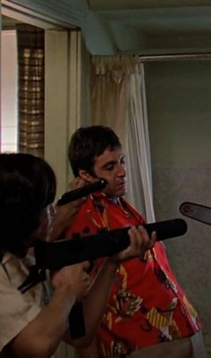 Scarface 1983, Look Tony this is what's going to happen to you, If you don't tell me where the stuff is at!