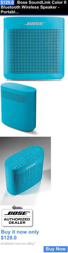 Audio Docks and Mini Speakers: Bose Soundlink Color Ii Bluetooth Wireless Speaker - Portable 2 - Blue BUY IT NOW ONLY: $129.0