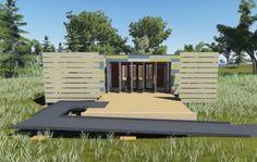 SheltR3 solar decathlon 2015 weather proof housing