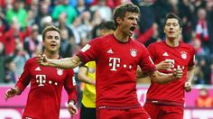 Bayern Munich exert heavy punishment on rival Dortmund in laugher | FOX Sports