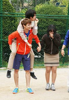 SHINee on Dream Team